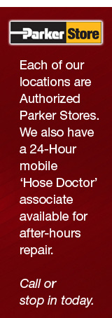 Each location has a Parker Store inisde